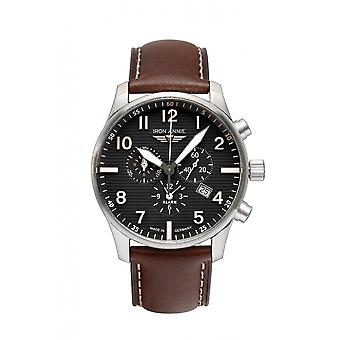 Iron Annie 5684-2 D-Aqui Black Dial With Chronograph Wristwatch