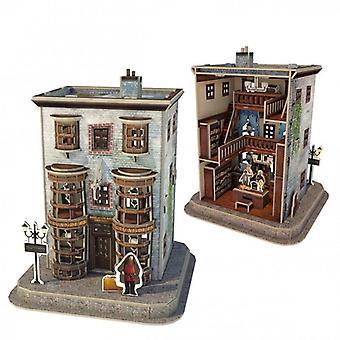 University games - ollivander's wand shop - harry potter 3d puzzle