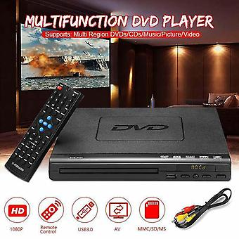 Tragbarer Dvd-Player, Evd-Player, Multifunktions-DVD-Player für Multi-Winkel
