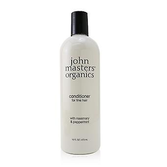 Conditioner for fine hair with rosemary & peppermint 253915 473ml/16oz