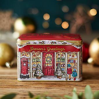 Season's greetings christmas tea tin 40 teabags