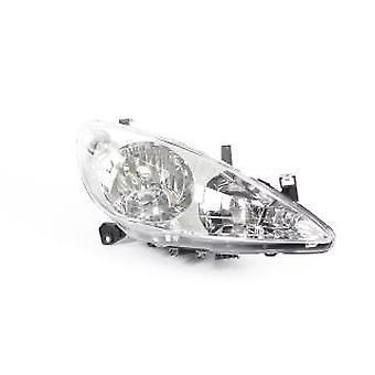 RH Headlamp (no Fog Lamp Electric no Motor Hatch) For Peugeot 307 CC 2001-2005