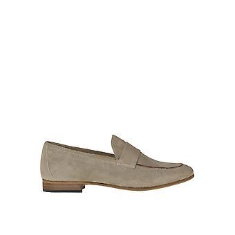 Chiarini Bologna Ezgl463004 Women's Grey Suede Loafers
