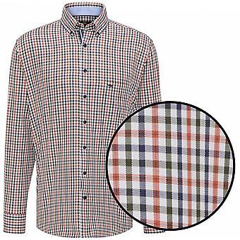 FYNCH HATTON Fynch Hatton Casual Check Shirt