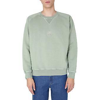 Nigel Cabourn Ncosj52washedgreen Men's Green Cotton Sweatshirt