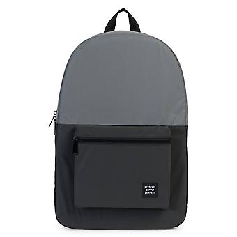 Herschel Packable Daypack Backpack - Silver / Black