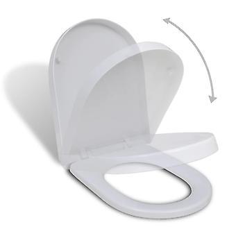 Wc-bril met automatische absthenotatie Square White