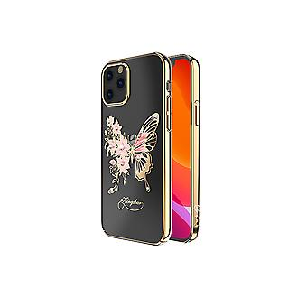 iPhone 12 and iPhone 12 Pro Case Butterfly Gold
