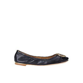 Tory Burch Ezgl032026 Women's Black Leather Flats