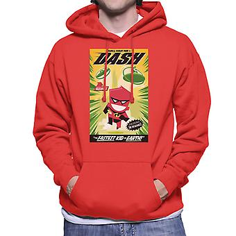 Pixar The Incredibles Dash The Faster Kid On Earth Men's Hooded Sweatshirt
