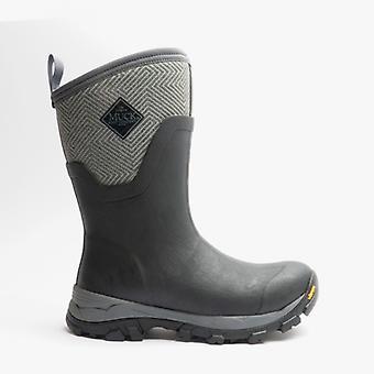 Muck Boots Arctic Ice Ladies Cr Flex-foam Wellington Boots Grey/geo