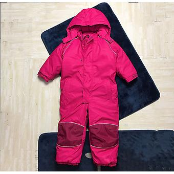 Kids / Softshell Jumpsuit, Overalls With Fleece Lining, Windproof & Waterproof