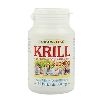 Krill Superba 60 softgels of 500mg