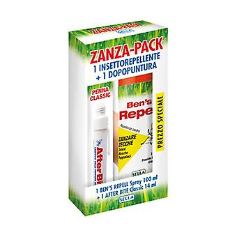 Zanza Pack (1afterbite + 1 Bensrepell) 100 ml