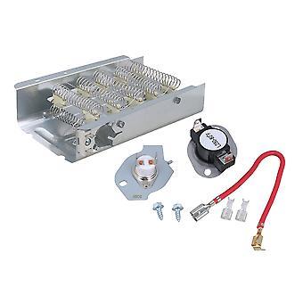 279838 Elemento de calefacción y secadora de secadora 279816 PS334299 Kit de termostato