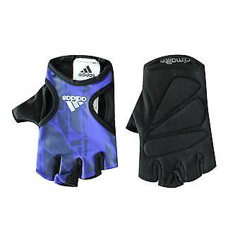 Adidas Womens Graphic Training Fitness Gloves Black Purple Sport S22480 A187E