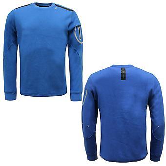 Diadora Sportswear Herren Evo Sweatshirt Pullover Pullover Blau 102.171140 60119 A9D