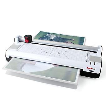 A3 Photo Paper Hot & Cold Thermal Laminator Machine Quick Warm-up Fast