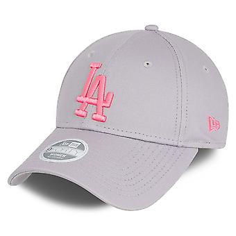 New Era 9Forty Women's Cap - Los Angeles Dodgers Grey / Pink