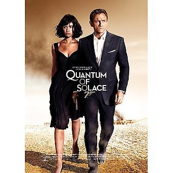 James Bond Quantum av Solace Vykort