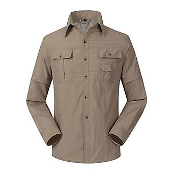 Quick Dry And Breathable Men's Summer Military Shirts