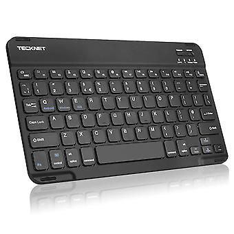 Tecknet bluetooth ultra-slim wireless keyboard with built-in li-polymer rechargeable battery for all