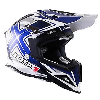 Just 1 J12 Carbon MX Helmet Mister X Blue