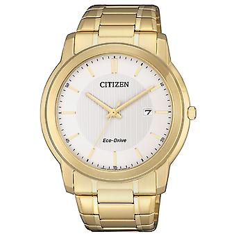 Mens Watch Citizen AW1212-87A, Kvarts, 41mm, 5ATM