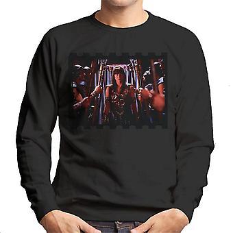 Xena Warrior Princess And Her Soldiers Men's Sweatshirt