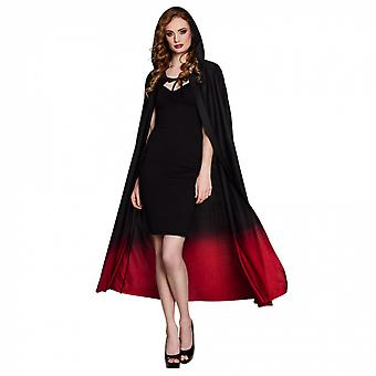 Cape 170 Cm Polyester Black / Red One Size