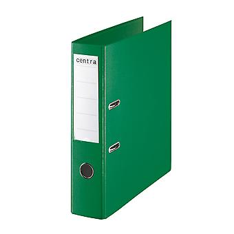 Rapid A4 Folder Lever Arch File 75mm Polypropylene Green