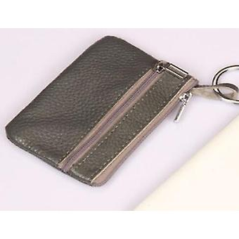 Casual Women Housekeeper For Home Fashion Leather Key Wallet Slim Coin Pouch