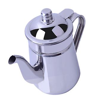 Stainless Steel Mirror Finish Water Kettle, Teapot Coffee Pot With Lid