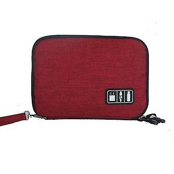 High Grade Nylon 2 Layers Travel Electronic Accessories Organizer Bag,travel