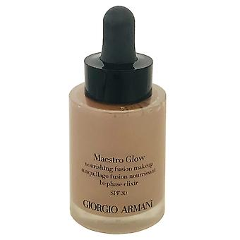 Giorgio Armani Armani Maestro Glow Makeup Nourishing Fusion 30ml #8 -Box Imperfect- Bi Phase