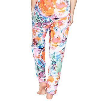 Cyberjammies Aimee 4825 Mujeres's Mezcla Blanca Floral Modal Pyjama Pant