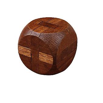 Wooden Intelligence Toy Chinese - Brain Teaser Game - 3d Iq Puzzle