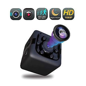 Mini spionkamera 1080p dold minikamera bärbar liten spionkamera med mörkerseende och rörelsedetektering