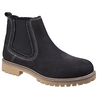 Darkwood hawthorn casual leather walking boots mens