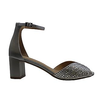 BADGLEY MISCHKA Womens Sycamore Peep Toe Ankle Wrap D-orsay Pumps