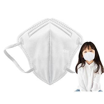 10-70 Stk Kn95 Kinder Gesichtsmasken 5 Lay Masque Anti Staub Maske