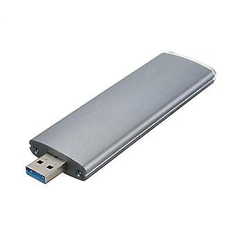 M.2 Ngff Ssd Sata To Usb 3.0 Converter Adapter Case External Enclosure Storage
