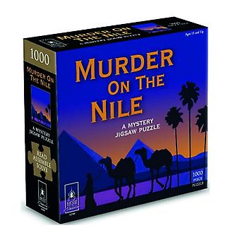 Murder on the Nile Mystery Puzzle