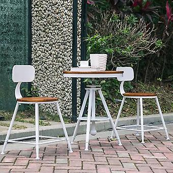 Combination Net Leisure Coffee Milk Tea Shop Outdoor Balcony Small Table And