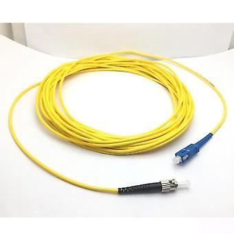 Sc St Upc Fiber Optic Patch Cord Jumper Cable Singlemode Simplex 9/125 3.0mm