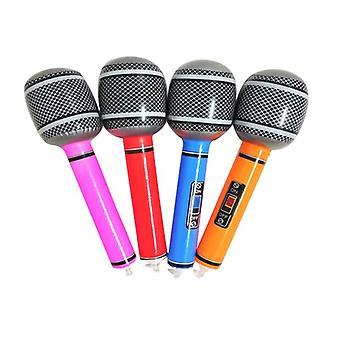 Uusi puhallettava mikrofoni puhallettava hauska lelu