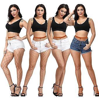 جوارب طويلة، النساء مثير الفخذ عالية، Fishnet