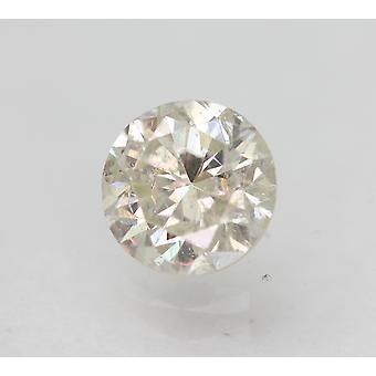 Sertifioitu 0,73 karat I SI1 pyöreä brilliant parannettu luonnollinen löysä timantti 5,63mm