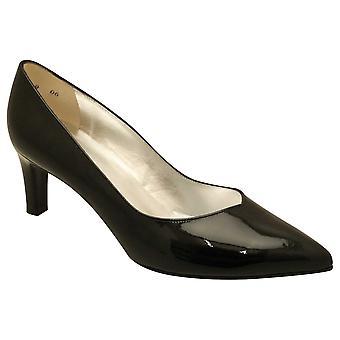 بيتر كايزر بلاك براءة اختراع جلد منتصف كعب المحكمة الأحذية