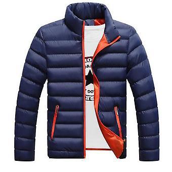 Pánské lyžařské bundy s dlouhým rukávem, zimní teplý kabát